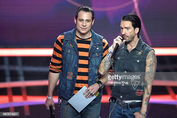 The BossHoss attend the Echo Award 2014 show on March 27 2014 in Berlin Germany