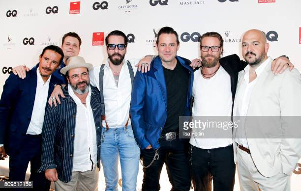The BossHoss attend the GQ Mension Style Party 2017 at Austernbank on July 5 2017 in Berlin Germany