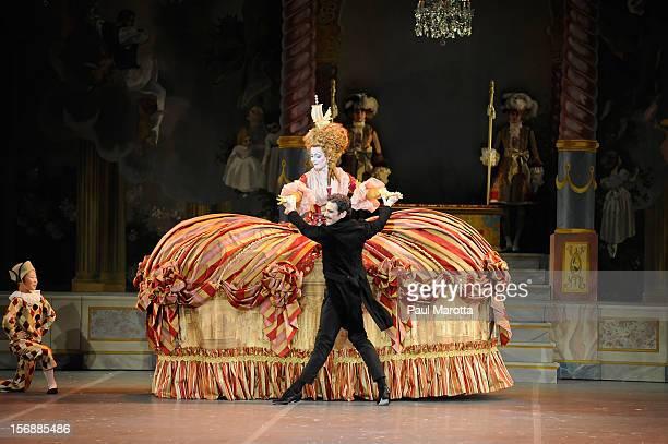 The Boston Ballet's opening night performance of the world premiere of Mikko Nissinen's 'The Nutcracker' at Boston Opera House on November 23 2012 in...