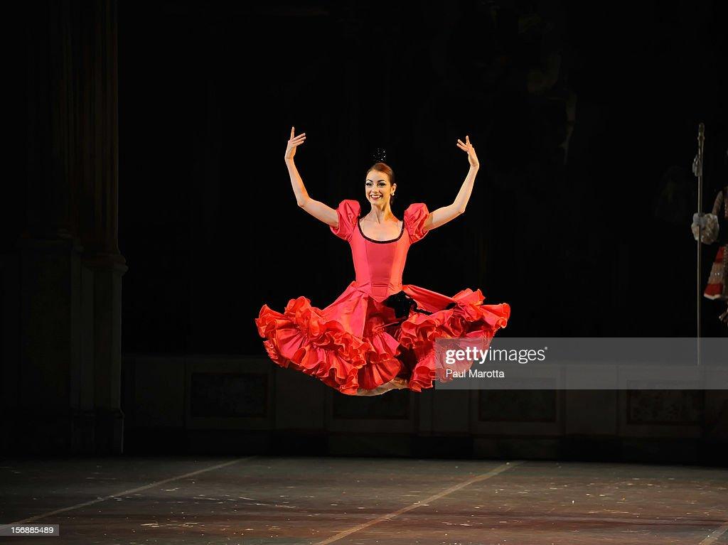 The Boston Ballet's opening night performance of the world premiere of Mikko Nissinen's 'The Nutcracker' at Boston Opera House on November 23, 2012 in Boston, Massachusetts.