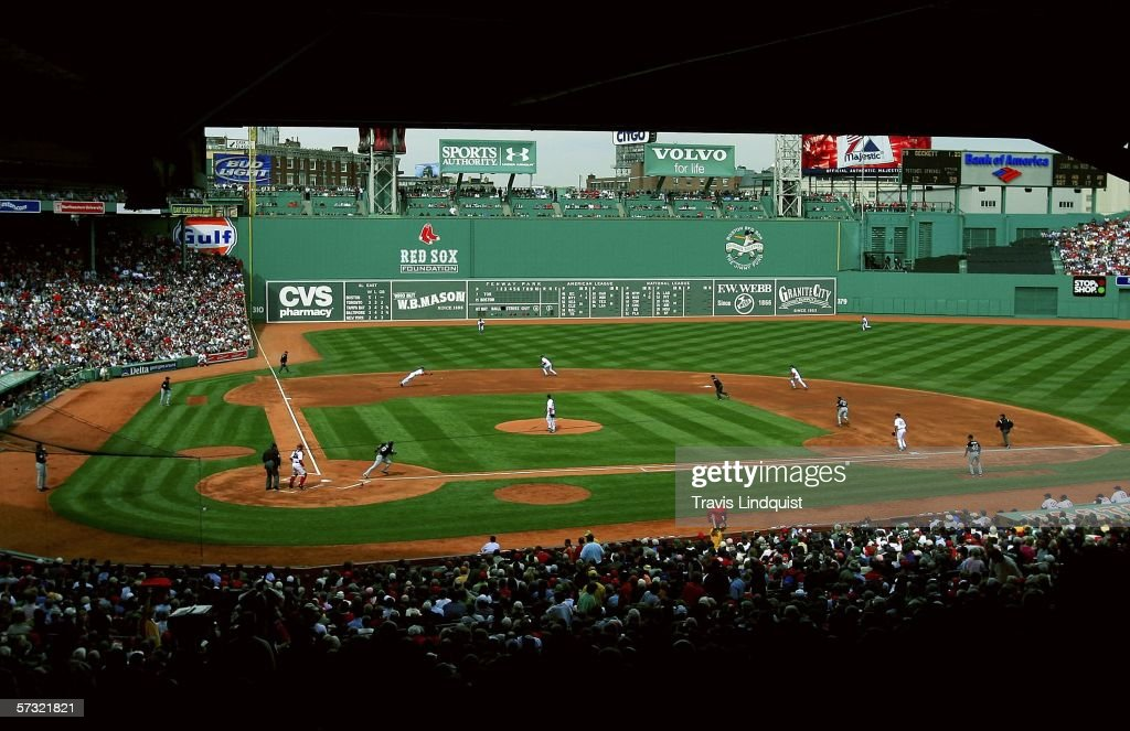 The Boston Red Sox Take On Toronto Blue Jays In Home Opener