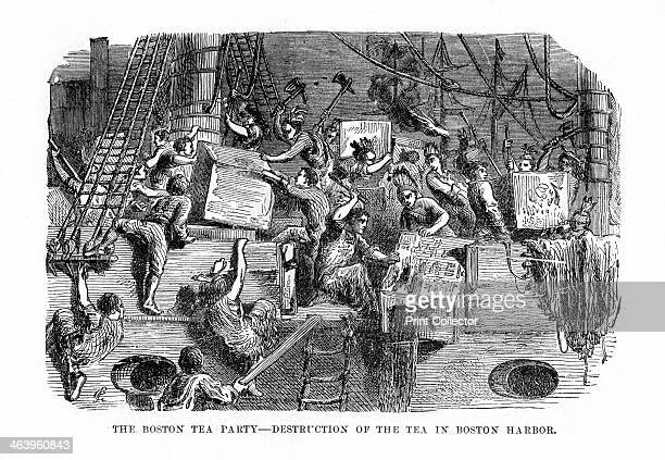 The Boston Tea Party16 December 1773 The Boston Tea Party was a protest by the American colonists against Great Britain in which they destroyed many...