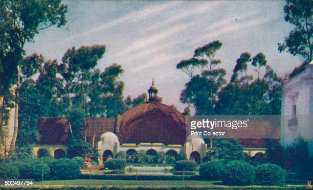 The Botanical Building' c1935 The California Pacific International Exposition was an exposition held in San Diego California in 1935 1936 The...