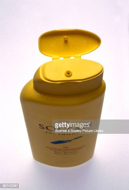 The bottle features a hinge made from polypropylene a thermoplastic polymer of propylene Polypropylene is widely used for making domestic containers...