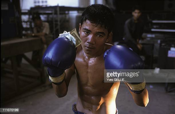 The boxers winnings are relatively meager Certain spectators take pity of losers donating a few US dollars to the luckless fighter in Phnom Penh...