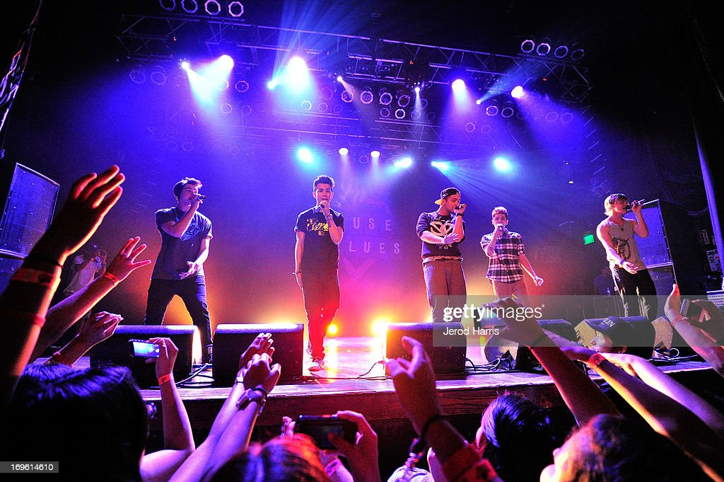 The Boy Band Project performs at the American Icon Music Tour at House Of Blues on May 28, 2013 in Anaheim, California.