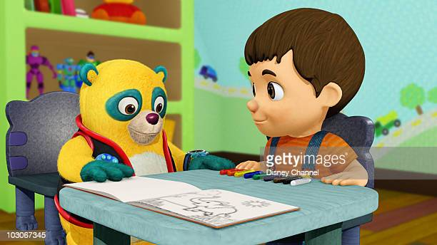 OSO The Boy With Colored Crayons Special Agent Oso Teaches Ivan How To