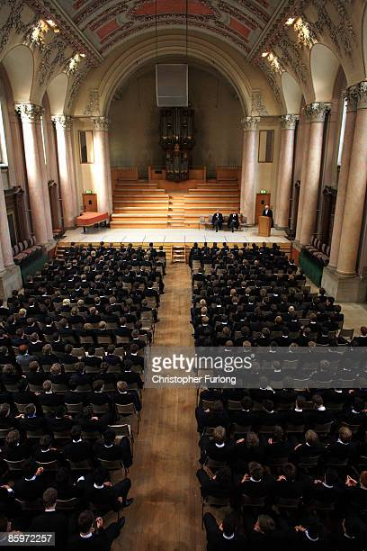 The boys of Eton College take part in morning assembly on September 6 2007 in Eton England An icon amongst private schools since its founding in 1440...