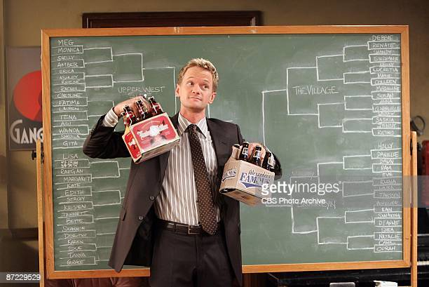'The Bracket' When Barney's love life is being sabotaged by a mystery woman he turns to tournament bracketology to narrow down the field of sixtyfour...