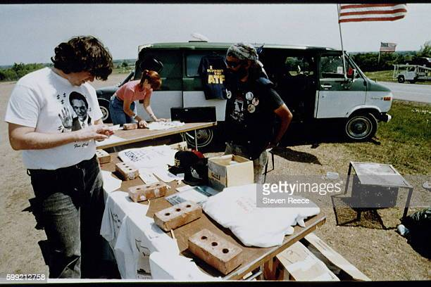 The Branch Davidians a Christian sect led by David Koresh lived at Mount Carmel Center ranch in the community of Elk Texas nine miles eastnortheast...