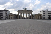 The Brandenburg Gate is pictured on March 26 2014 in Berlin AFP PHOTO / ODD ANDERSEN