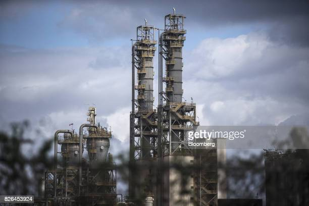 The Braskem SA petrochemical plants stands in Duque de Caxias Brazil on Friday Aug 4 2017 Petroleo Brasileiro SA and Odebrecht SA proposed that...