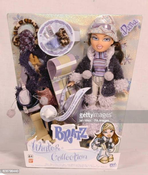 The Bratz Winter Collection one of the top 10 toys children are expected to want for Christmas on show at Dream Toys 2003 Teenage Mutant Ninja...