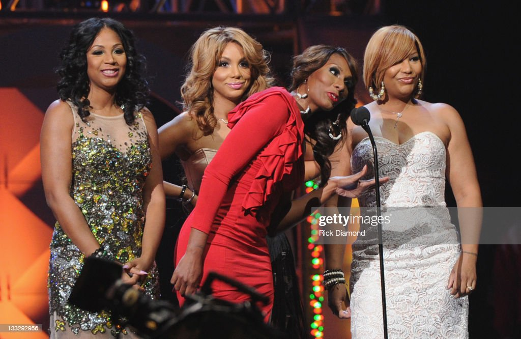 The Braxtons present at the 2011 Soul Train Awards at The Fox Theatre on November 17, 2011 in Atlanta, Georgia.