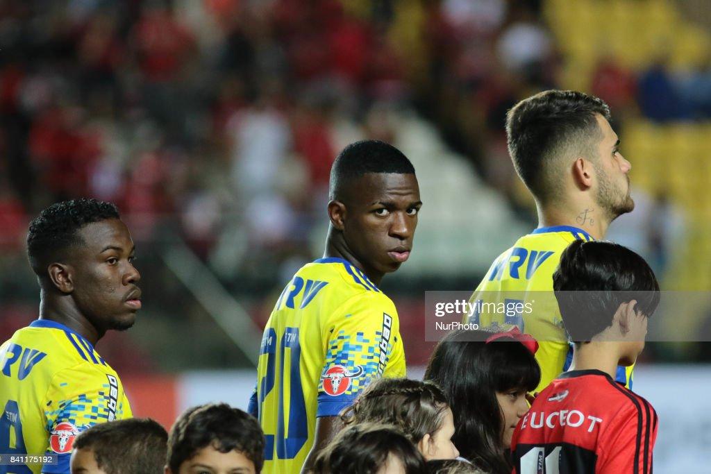 Professional footballer Vinicius Junior