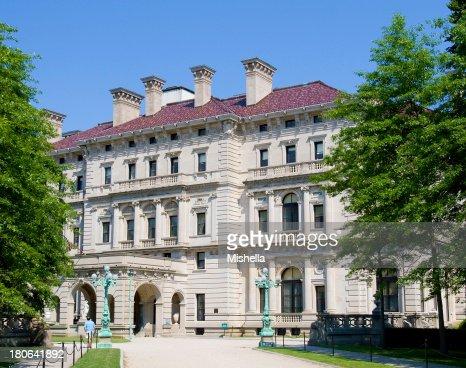 The Breakers. Cornelius Vanderbilt house : Stock Photo