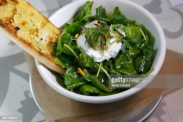 The breakfast bowl for food review of LINCOLN a big airy restaurant in Pasadena on March 20 2015