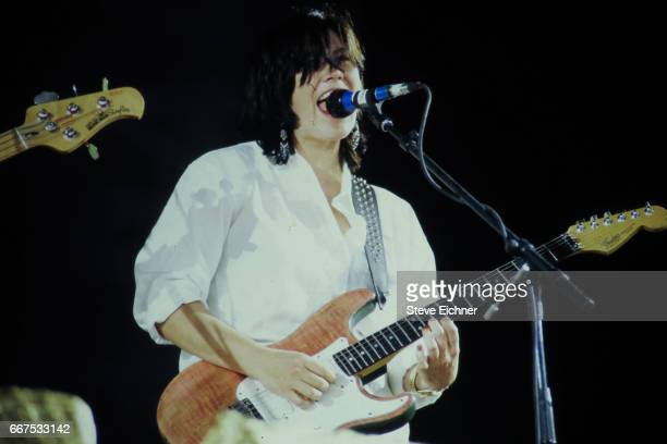 The Breeders perform at Lollapalooza New York New York July 15 1994