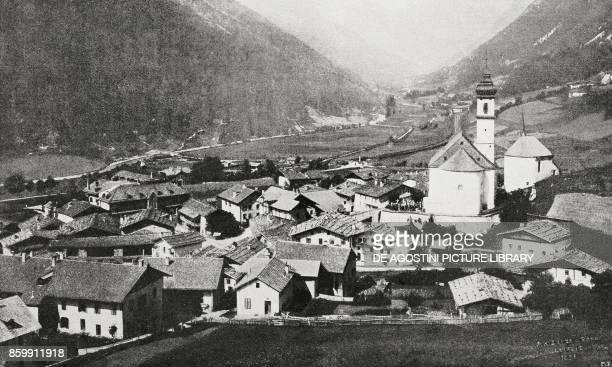 The Brenner Pass occupied by Italian troops TrentinoAlto Adige Italy World War I from l'Illustrazione Italiana Year XLV No 47 November 24 1918