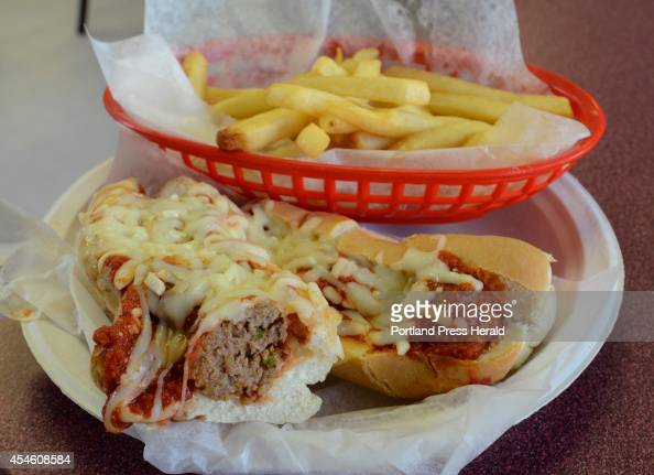 The Brianna served at Papa's Place Sandwich Shop in Sanford contains homemade meatballs diced peppers onions served on a sub roll
