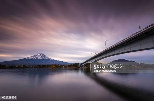 The bridge and the fujisan