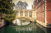 The Bridge of Sigh at Saint John's College, Cambridge