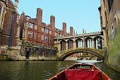 The Bridge of Sighs at Saint John's College, Cambridge.