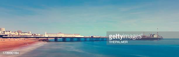 ブレアズヴィルビーチや桟橋のパノラマ
