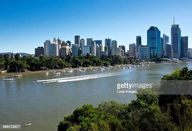 The Brisbane river in Queensland
