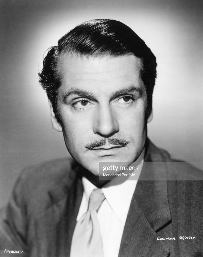 The British actor and director Laurence Olivier. 1950s