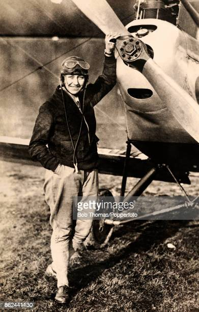 The British aviation pioneer Amy Johnson who was the first female to fly solo from Britain to Australia circa June 1930