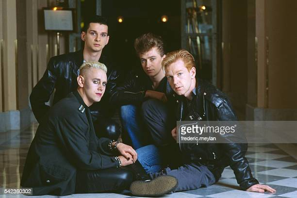 The British group Depeche Mode with Dave Gahan and Alan Wilder Martin Gore and Andy Fletcher