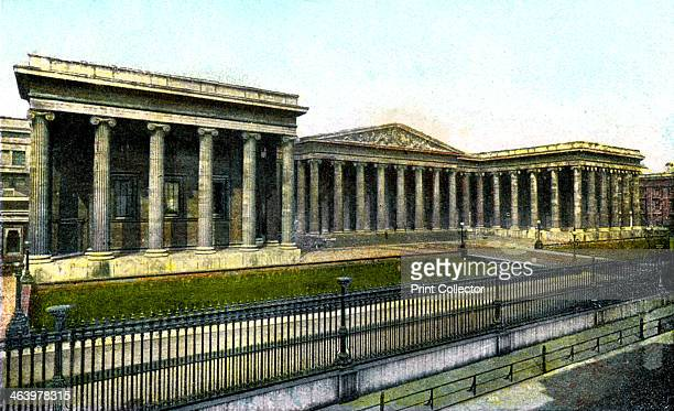 The British Museum London 20th Century The Britsh Museum in Holborn was established in 1753 Postcard from The Souvenir Album Views of London And The...