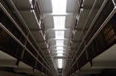 The 'Broadway Ave' in the cell block is seen at Alcatraz Island a 22acre rocky outcrop situated 15 miles offshore in San Francisco Bay August 11 2011...