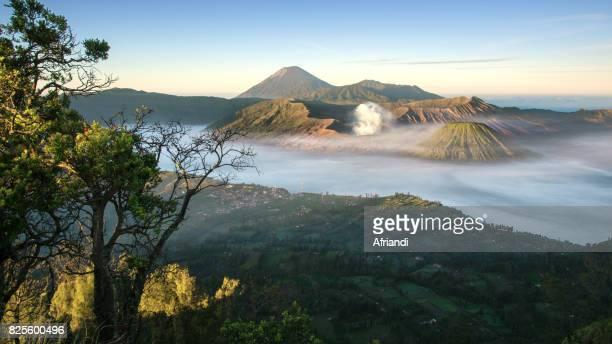 The Bromo Tengger Semeru National Park, East Java, Indonesia