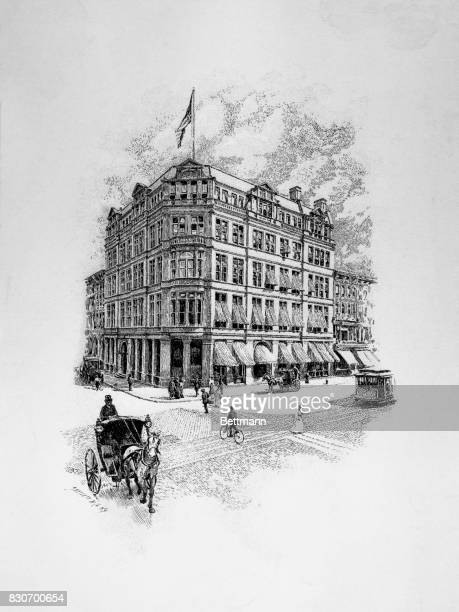Brooks Brothers Store at Broadway and East 22nd Street on the Ladies Mile New York New York Building was build in 1884 and designed by Charles Haight...