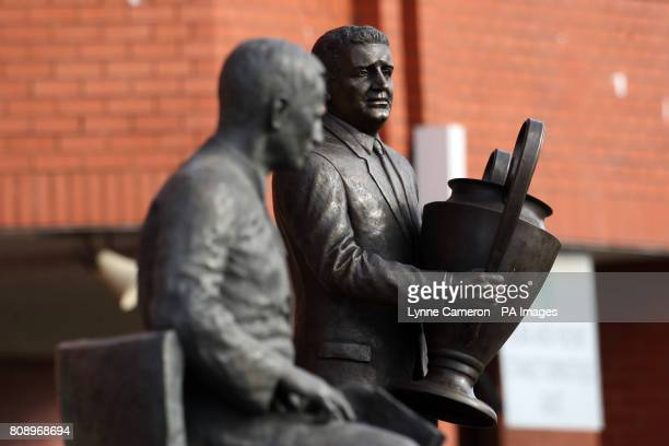 The Brother Walfrid and John 'Jock' Stein Statue's
