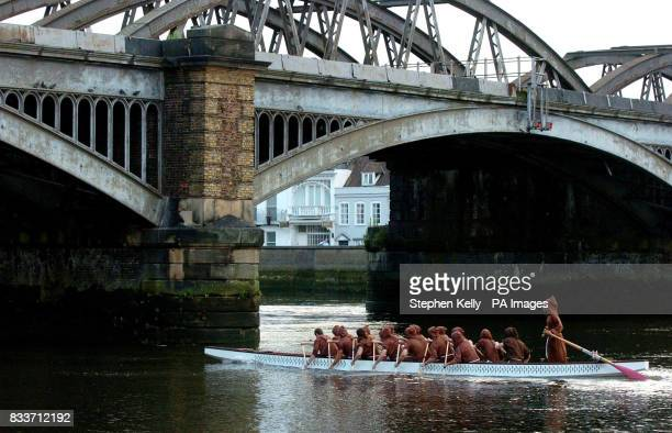 The 'Brotherhood' the all male charity dragon boat team primed to race Kate Middleton's all women 'Sisterhood' across the Channel reveals its squad...