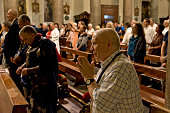 The brotherhoods of Corsica the Diocese of Ajaccio with a religious ceremony in the church of S Crisogono in Trastevere have honored Our Lady Noantri...