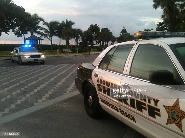 The Broward County Sheriff's Office investigates a body discovered on the beach in Deefield Beach Florida on October 17 2012 On Friday October 19...