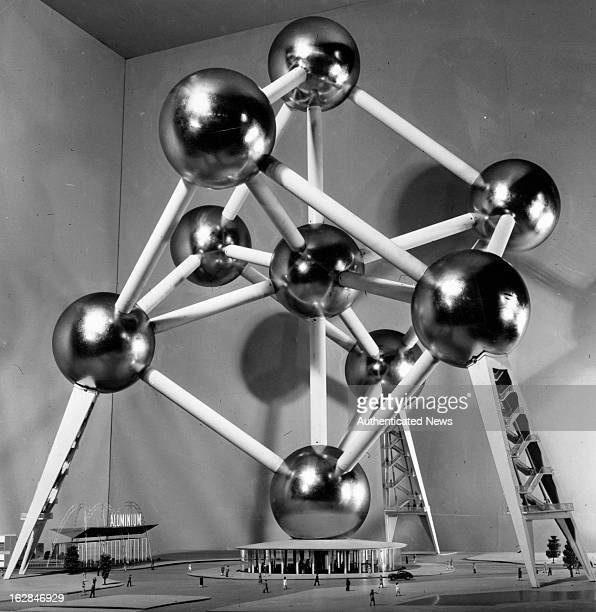 The Brussels Universal And International Exhibition there are nine rooms of the Atomium which is on display visitors will be able to see the great...