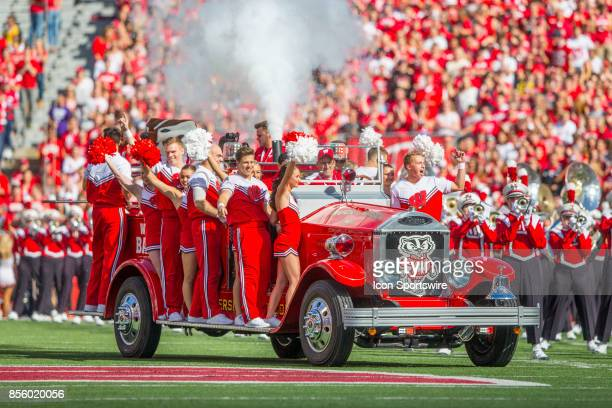 The Bucky Wagon is brought out for the first time in nearly 20 years to help celebrate Bucky Badger's birthday during the Big Ten football season...