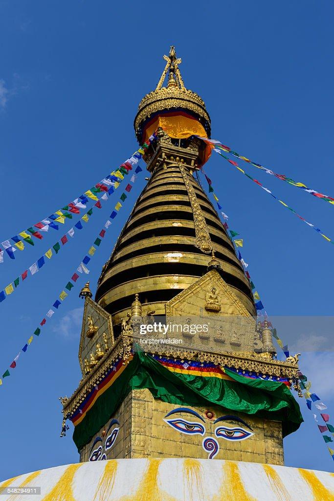 The Buddhist stupa of Boudhanath, Kathmandu, Nepal