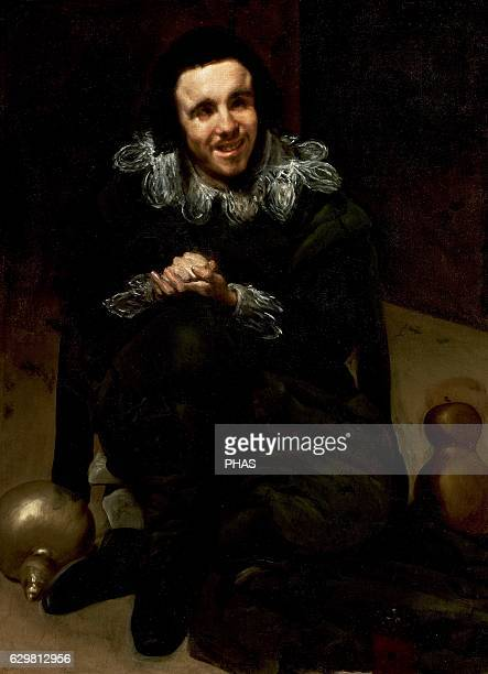 The Buffoon Calabacillas 16351639 by Diego Velazquez
