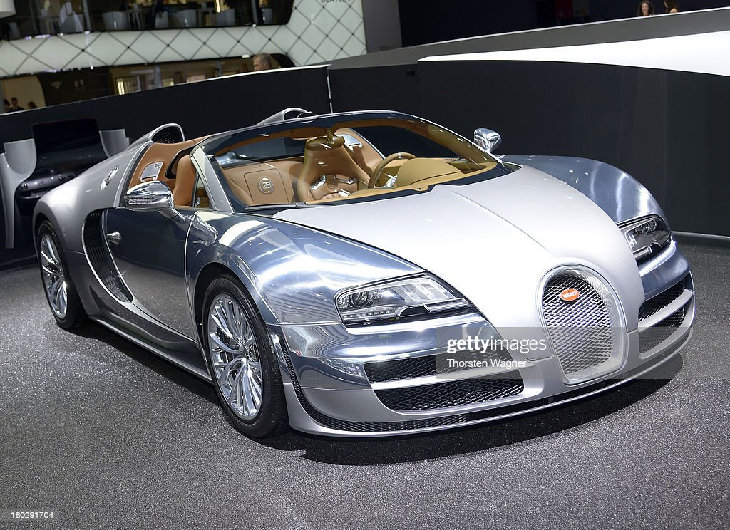 The Bugatti Vitesse is during the press day at the international motor show IAA (Internationale Automobil-Ausstellung) on September 11, 2013 in Frankfurt am Main, Germany. The world's biggest motor show, the IAA, is running from September 12 to 22, 2013
