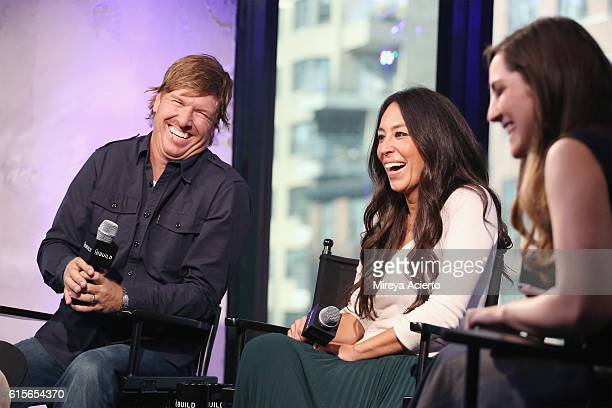 The Build Series present Chip Gaines and Joanna Gaines to discuss their new book 'The Magnolia Story' at AOL HQ on October 19 2016 in New York City