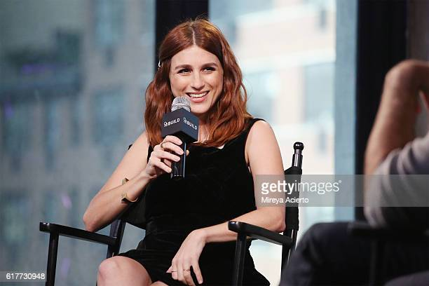 The Build Series presents actress Aya Cash to discuss the comedy series 'You're The Worst' at AOL HQ on October 24 2016 in New York City