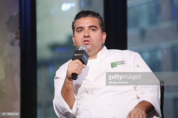 The Build Series presents Cake Boss Buddy Valastro to discuss his project Rethink Sweet at AOL HQ on October 24 2016 in New York City