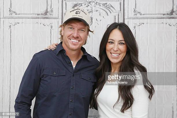 The Build Series presents Chip Gaines and Joanna Gaines to discuss their new book 'The Magnolia Story' at AOL HQ on October 19 2016 in New York City