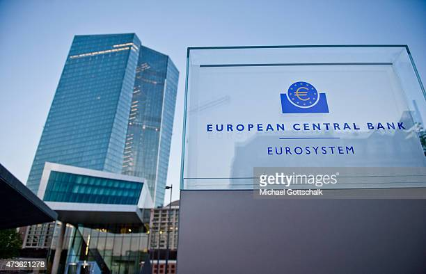 The building of the European Central Bank ECB ECB at the former wholesale market hall on May 15 2015 in Frankfurt Germany